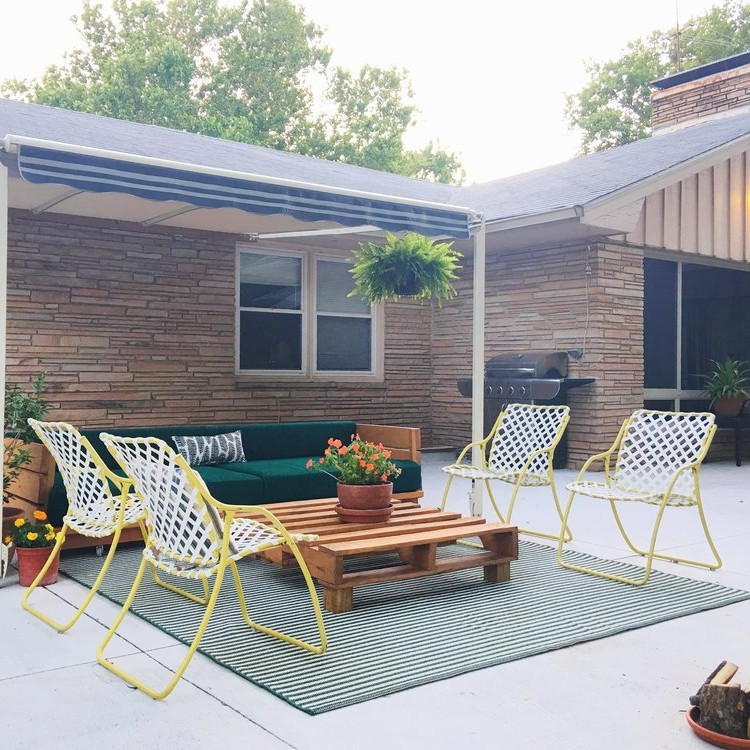Apartment Therapy - Before & After: This Exterior Makeover Will Make You Turn (Sea-Foam) Green With EnvyBefore & After: An Old Patio is Transformed into a Chic Outdoor Room - Apartment Therapy