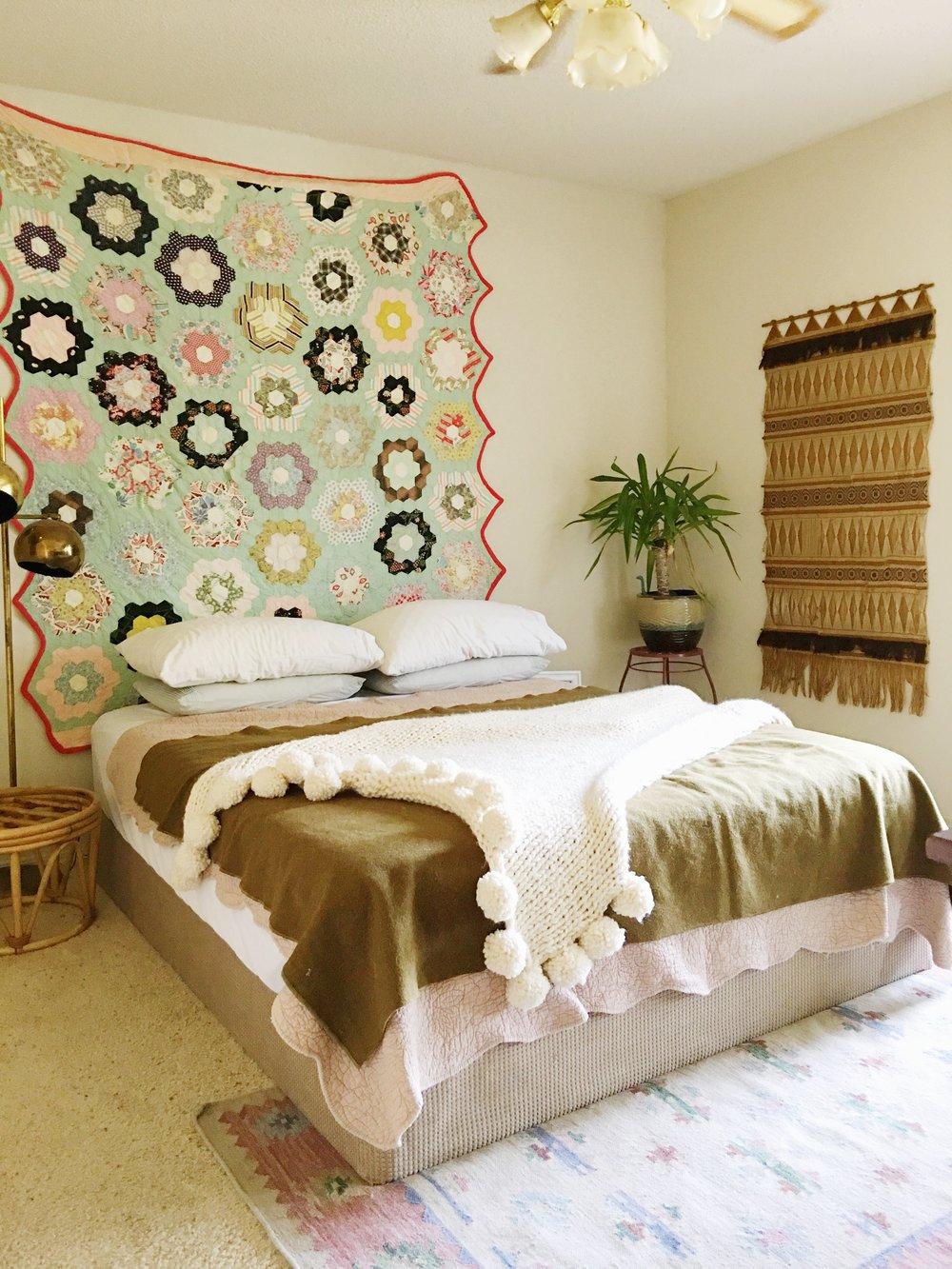 Home Styling Before After A Tulsa 80s Boho Bedroom Retro Den Vintage Furniture And Homewares