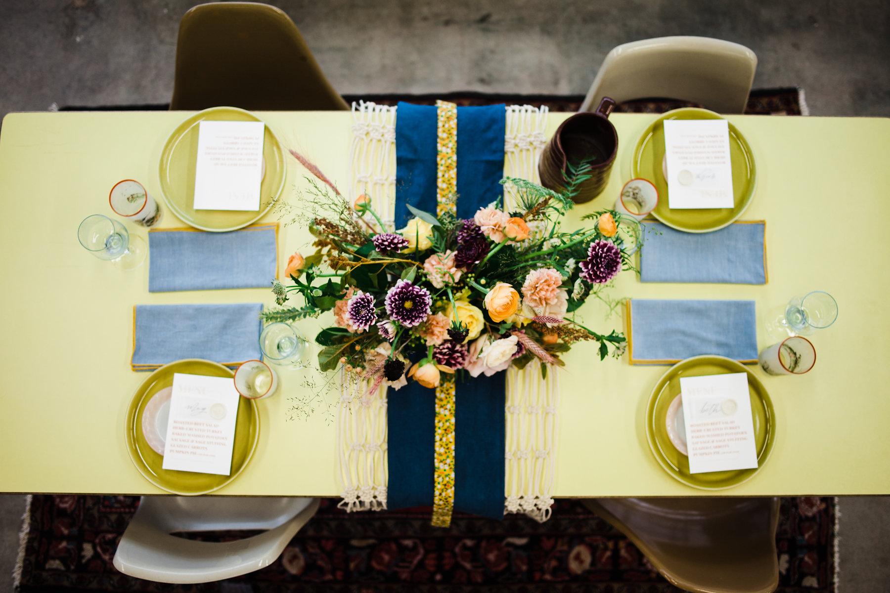 tulsa thanksgiving table