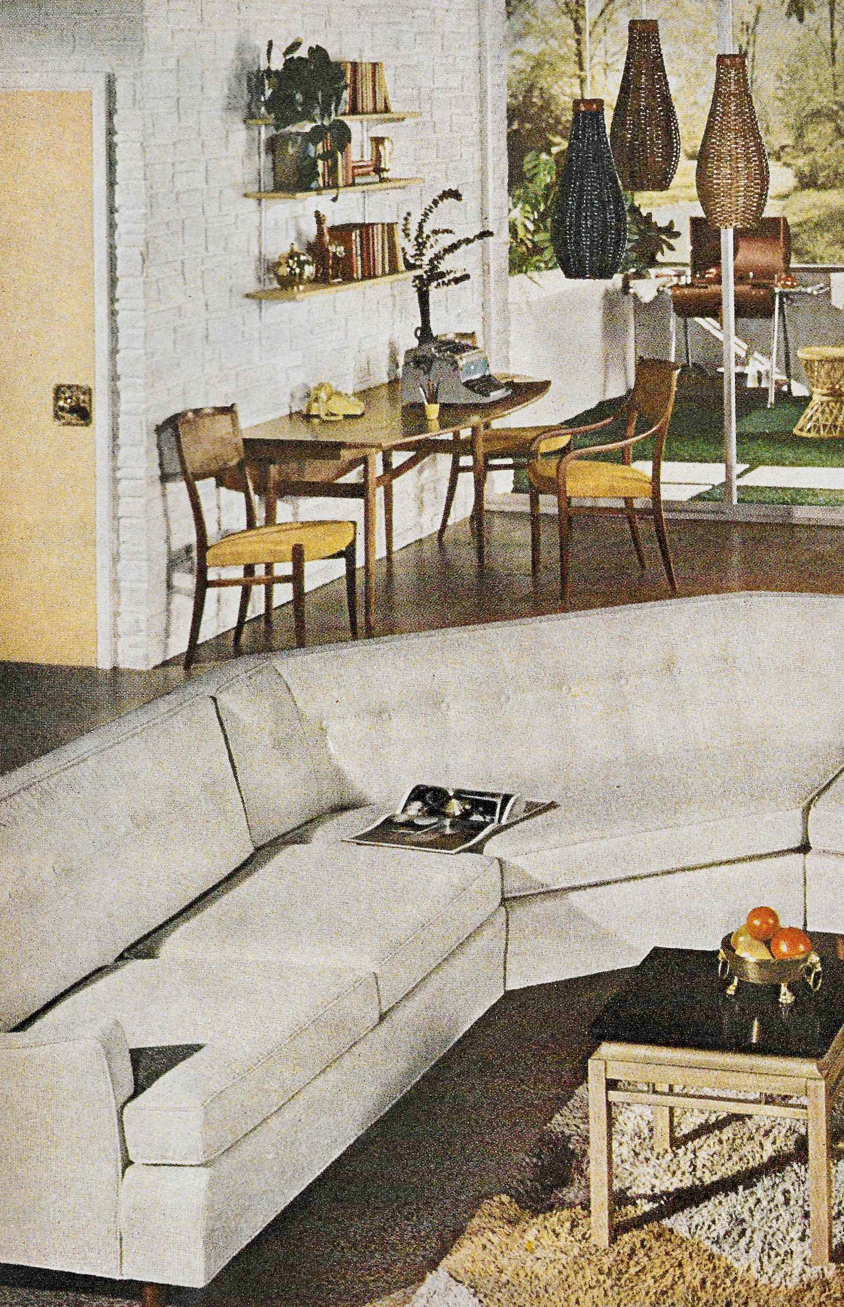 1961 Better Homes and Gardens Decorating Book: Design Trends