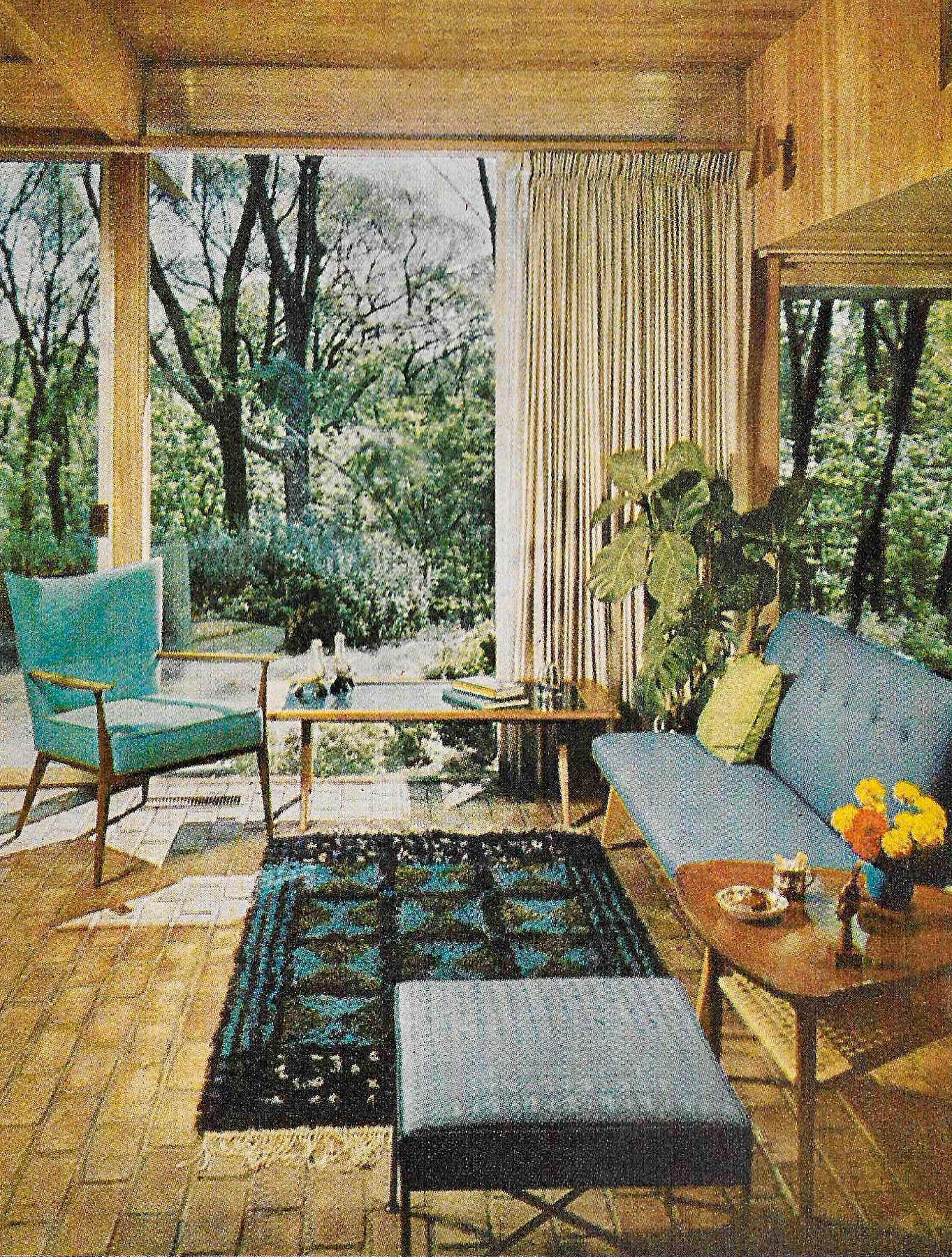 1961 Better Homes And Gardens Decorating Book Design Trends From The Past Retro Den Vintage Furniture And Homewares