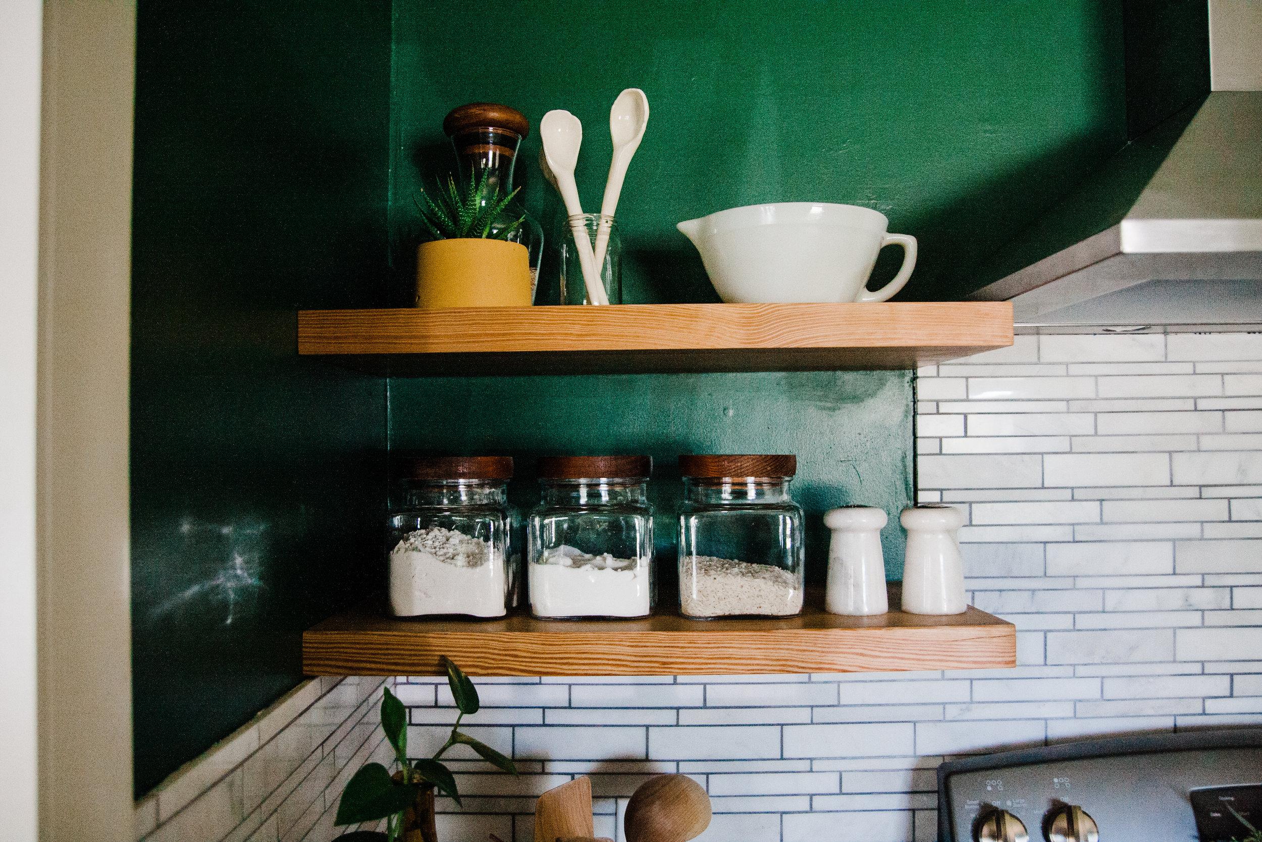 tulsa vintage modern kitchen
