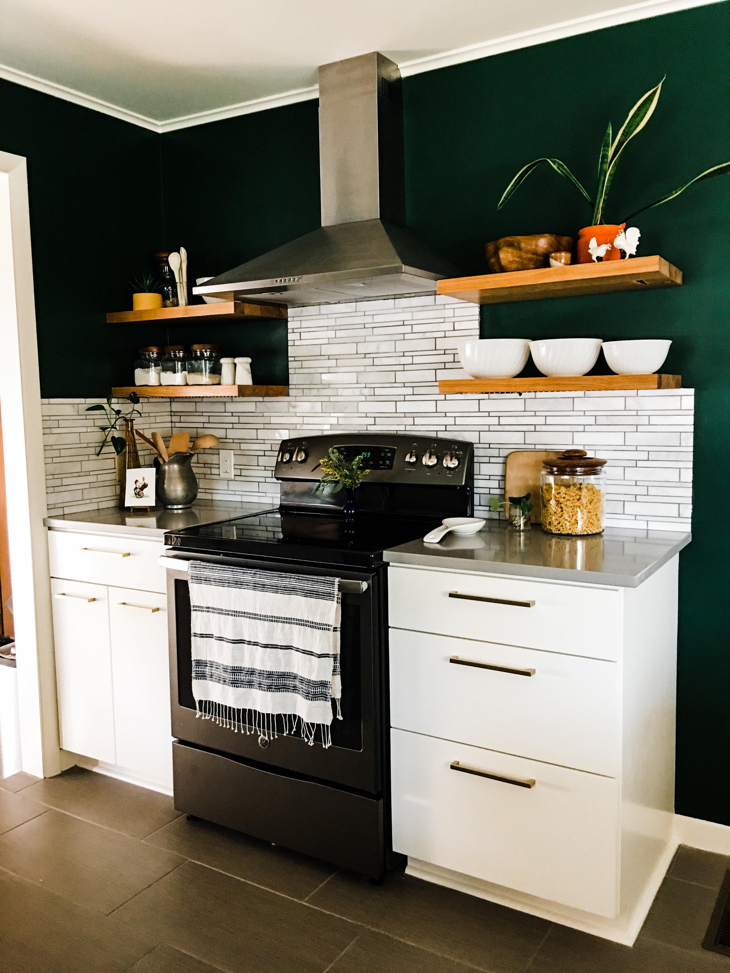modern kitchen renovation tulsa