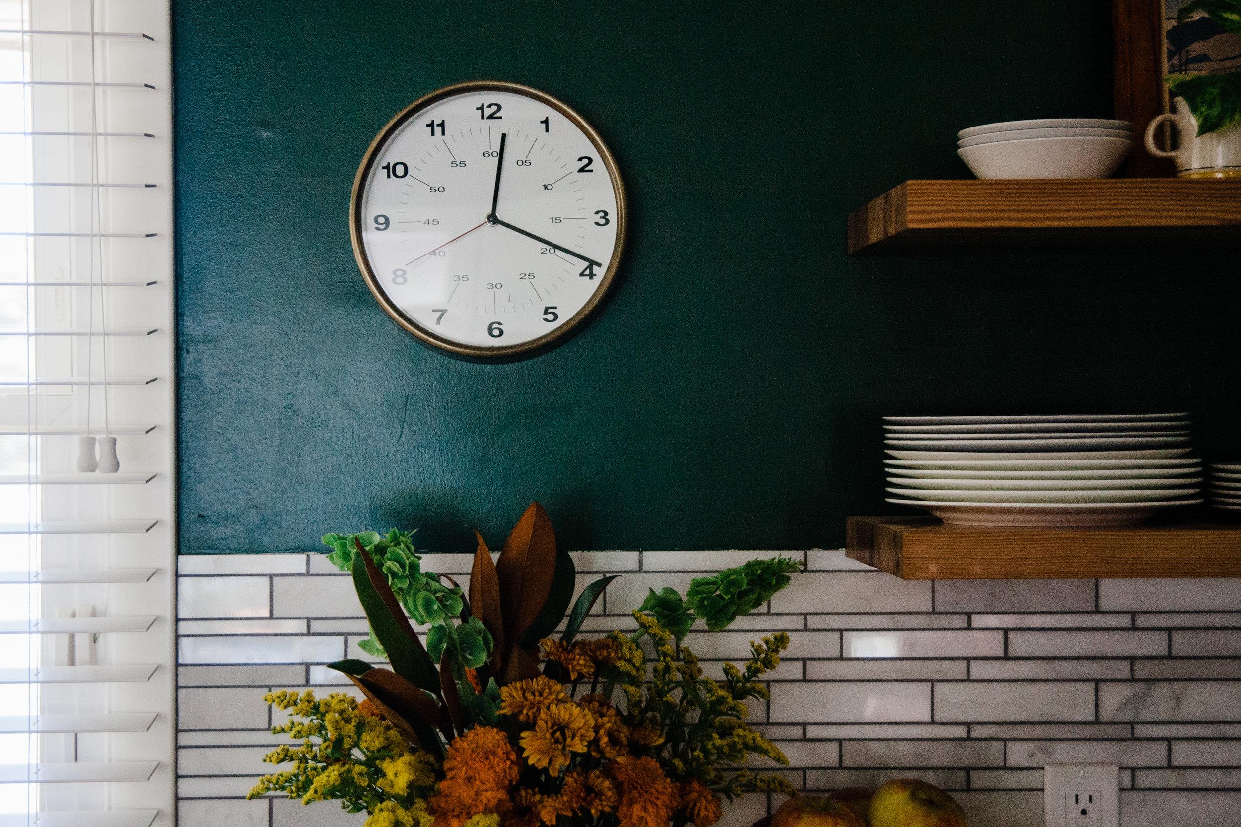 vintage modern kitchen