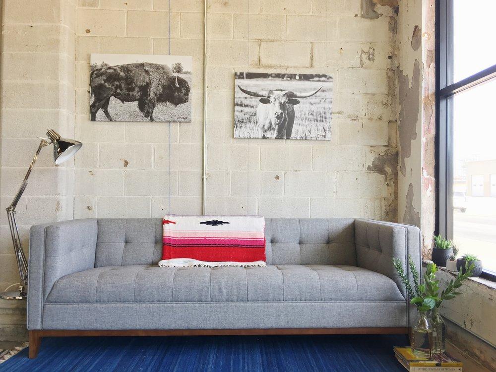 Buffalo canvas by Truesdell Productions