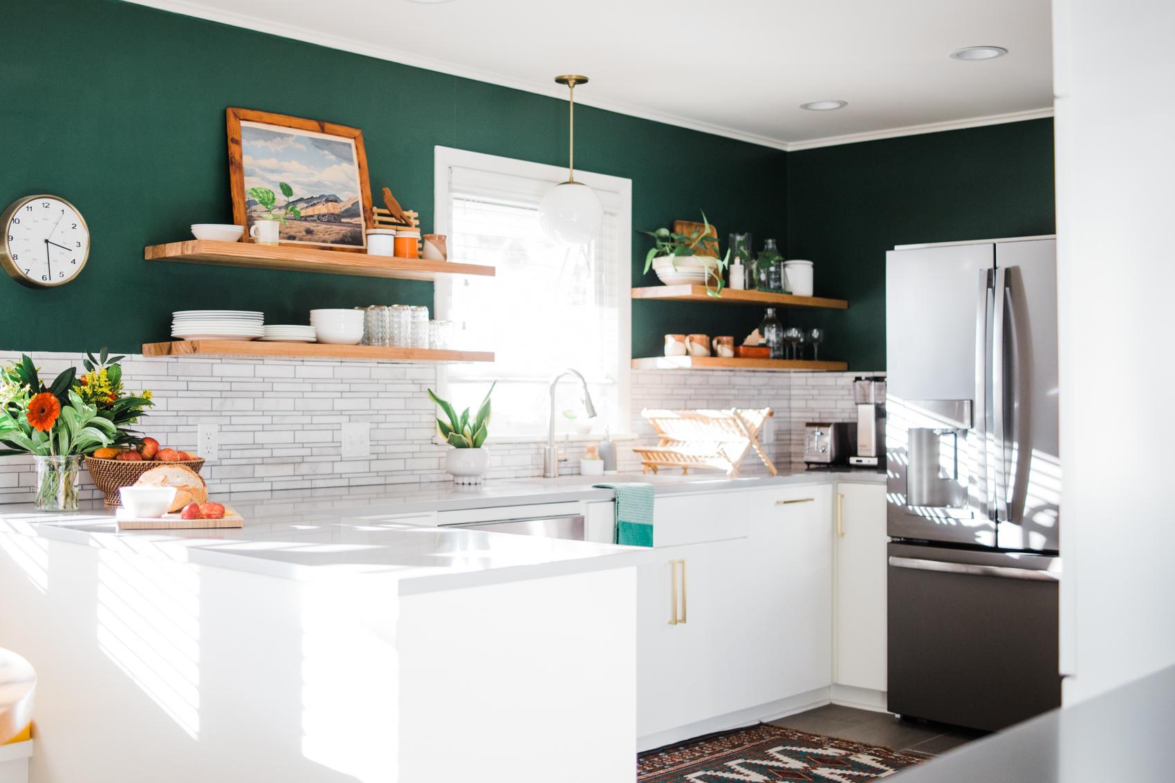 Design Sponge - Before & After: Form Meets Function in a Tulsa Kitchen Makeover