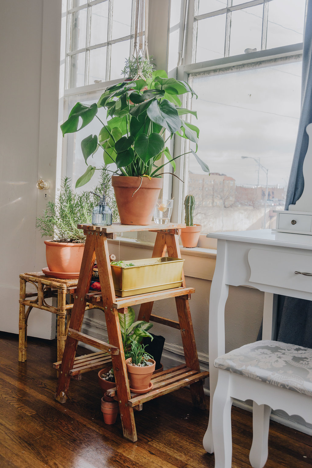 colorful+plant-filled+tulsa+apartment