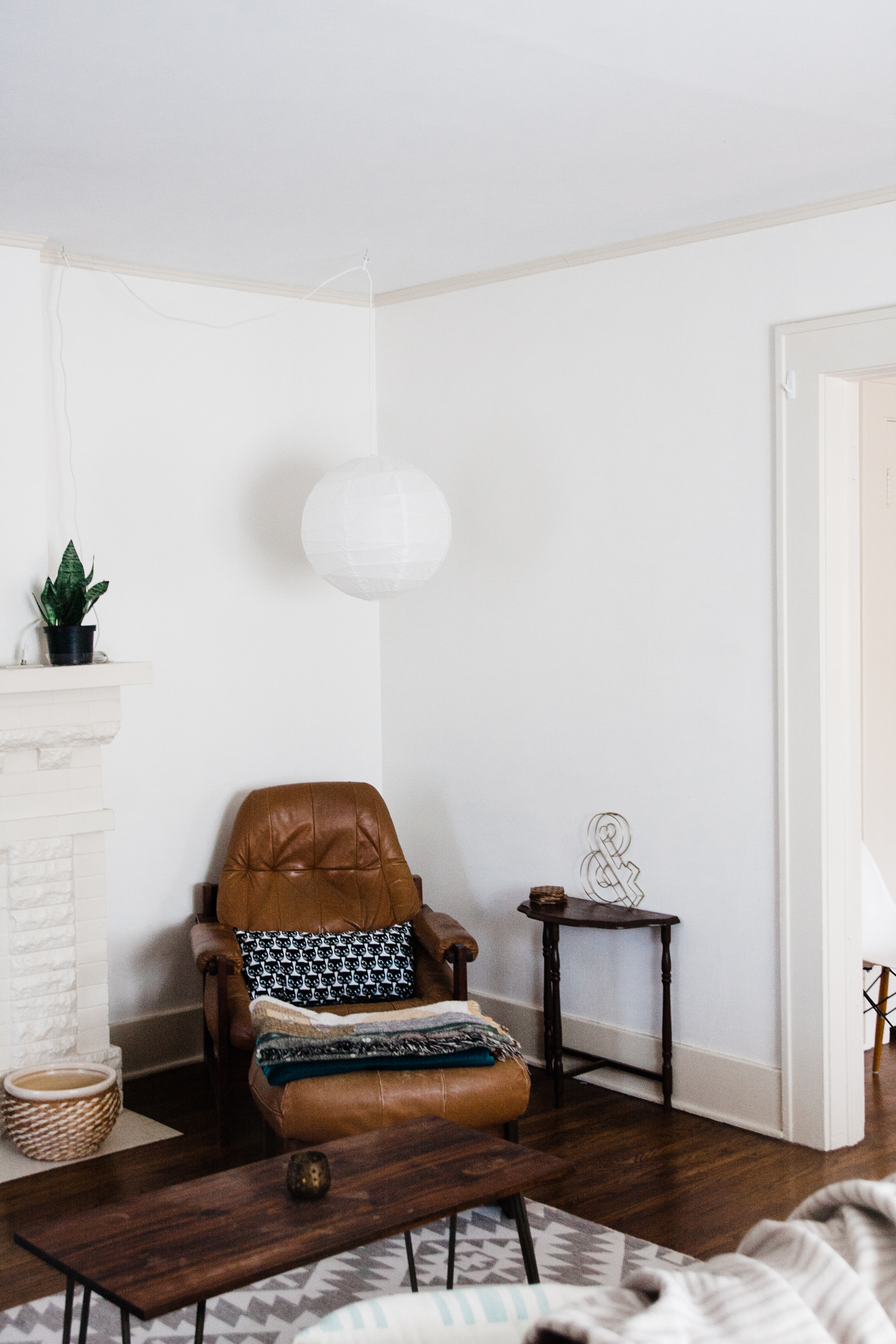 Emily snagged this Percival Lafer leather chair and ottoman from our shop. We are happy it lives in such a lovely home.