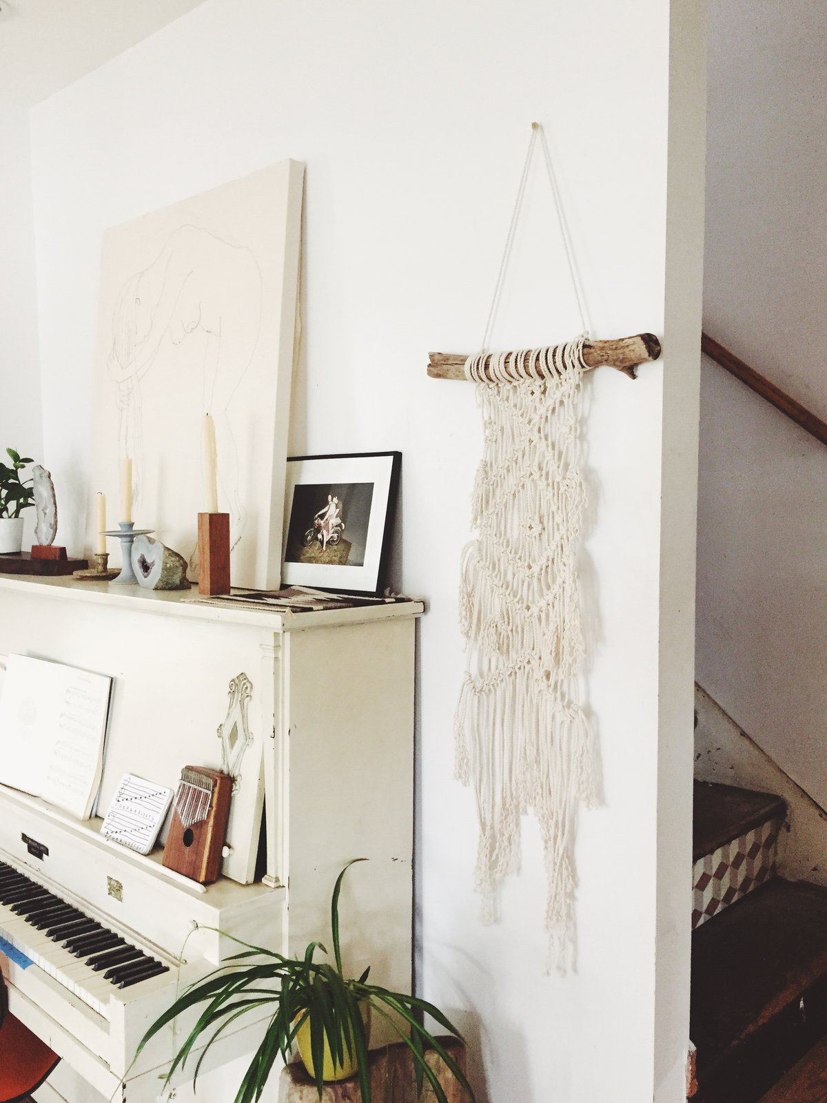 In case you missed our exciting announcement, we will be hosting fiber artist and designer Emily Katz for her  Modern Macrame  book tour this summer!Not only will Emily be at our shop for a book signing, she will be teaching a  macrame wall hanging class too!