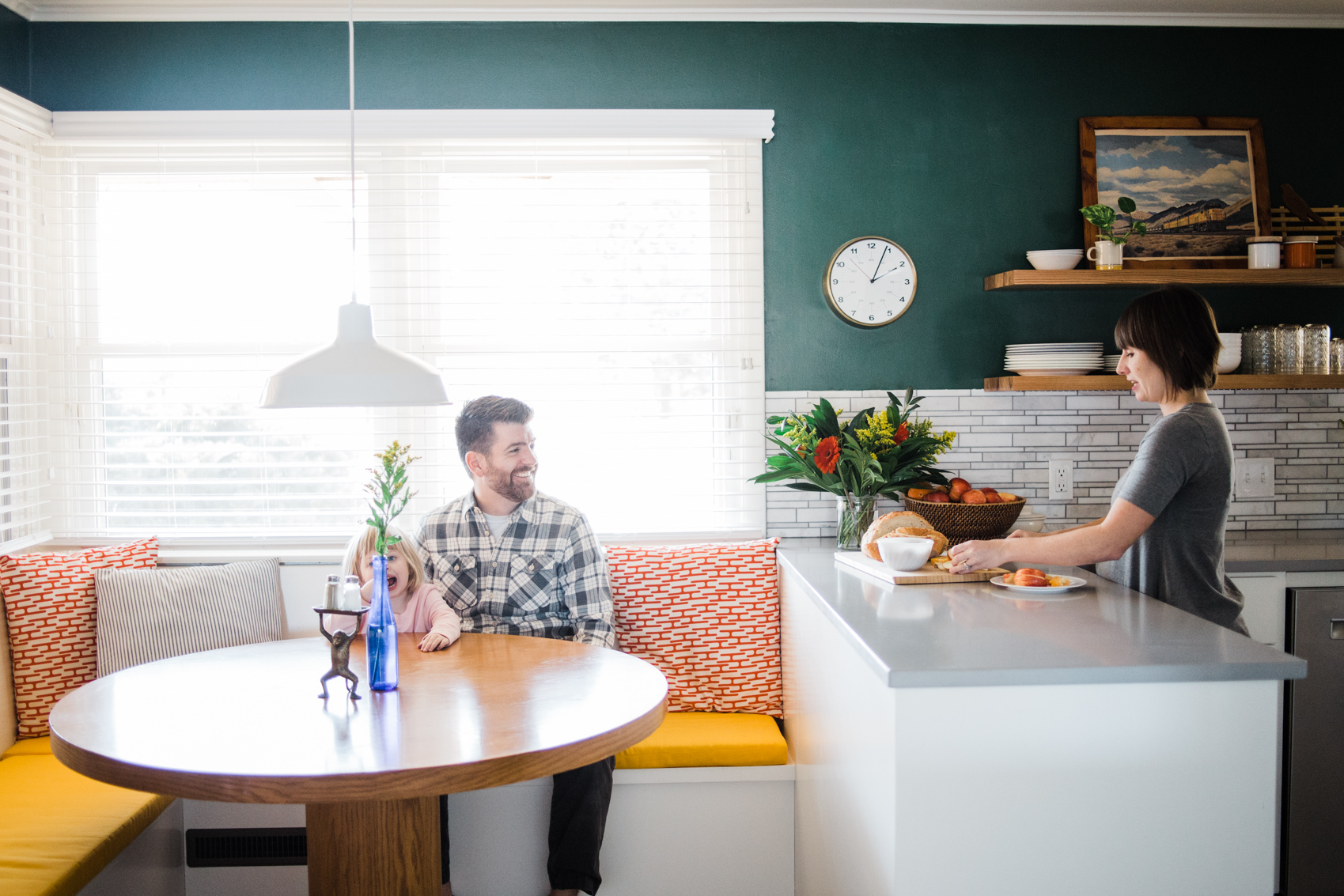 Creating A Built In Banquette Or Bench Seating For A Kitchen