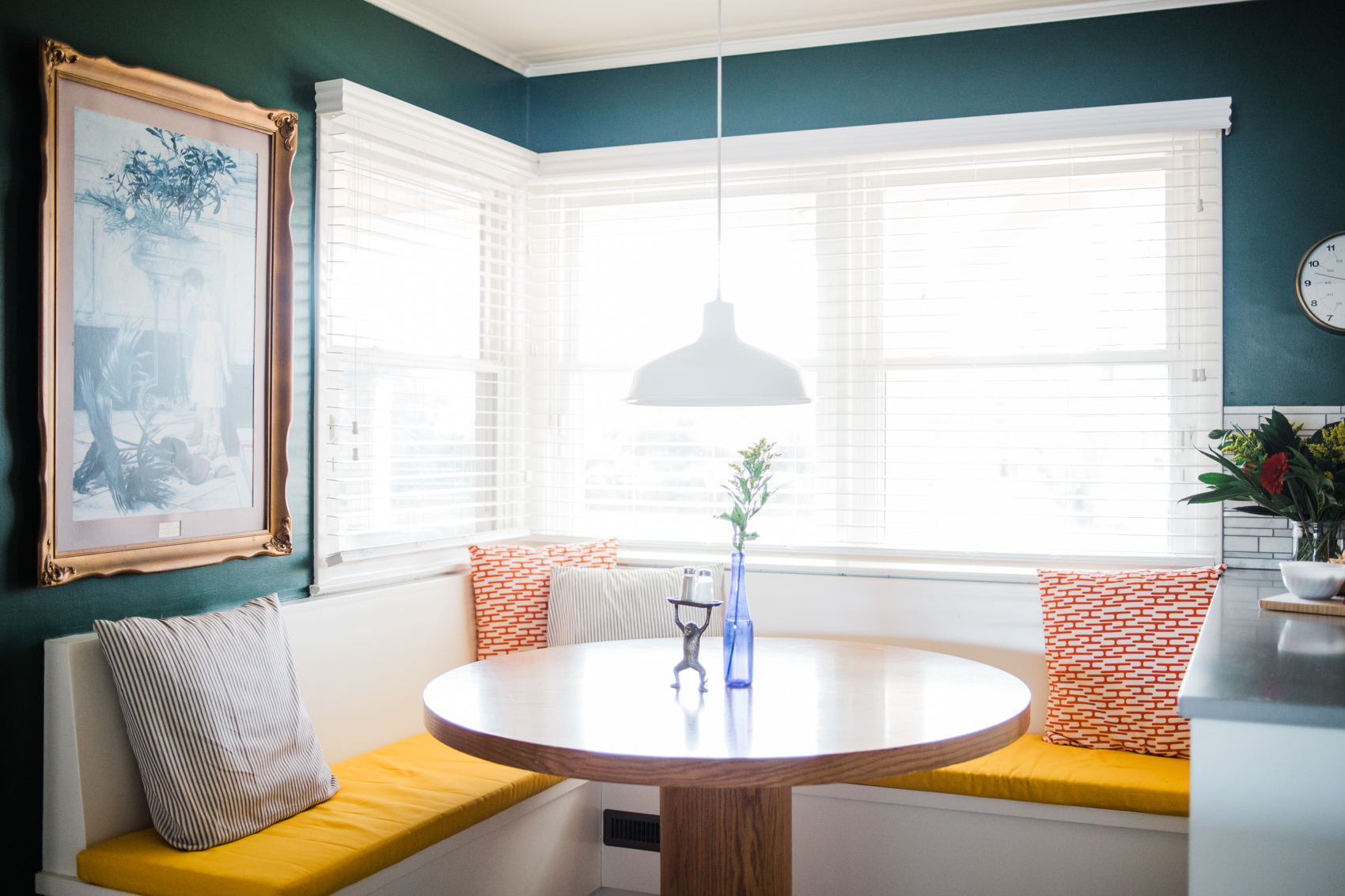 Creating A Built In Banquette Or Bench Seating For A Kitchen Breakfast Nook Retro Den Vintage Furniture And Homewares