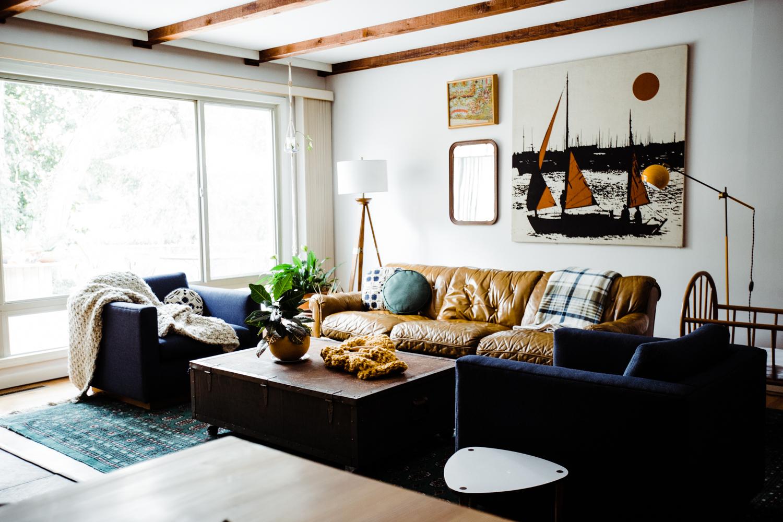 Fall Home Tour Decorating Ideas Retro Den Vintage Furniture And Homewares