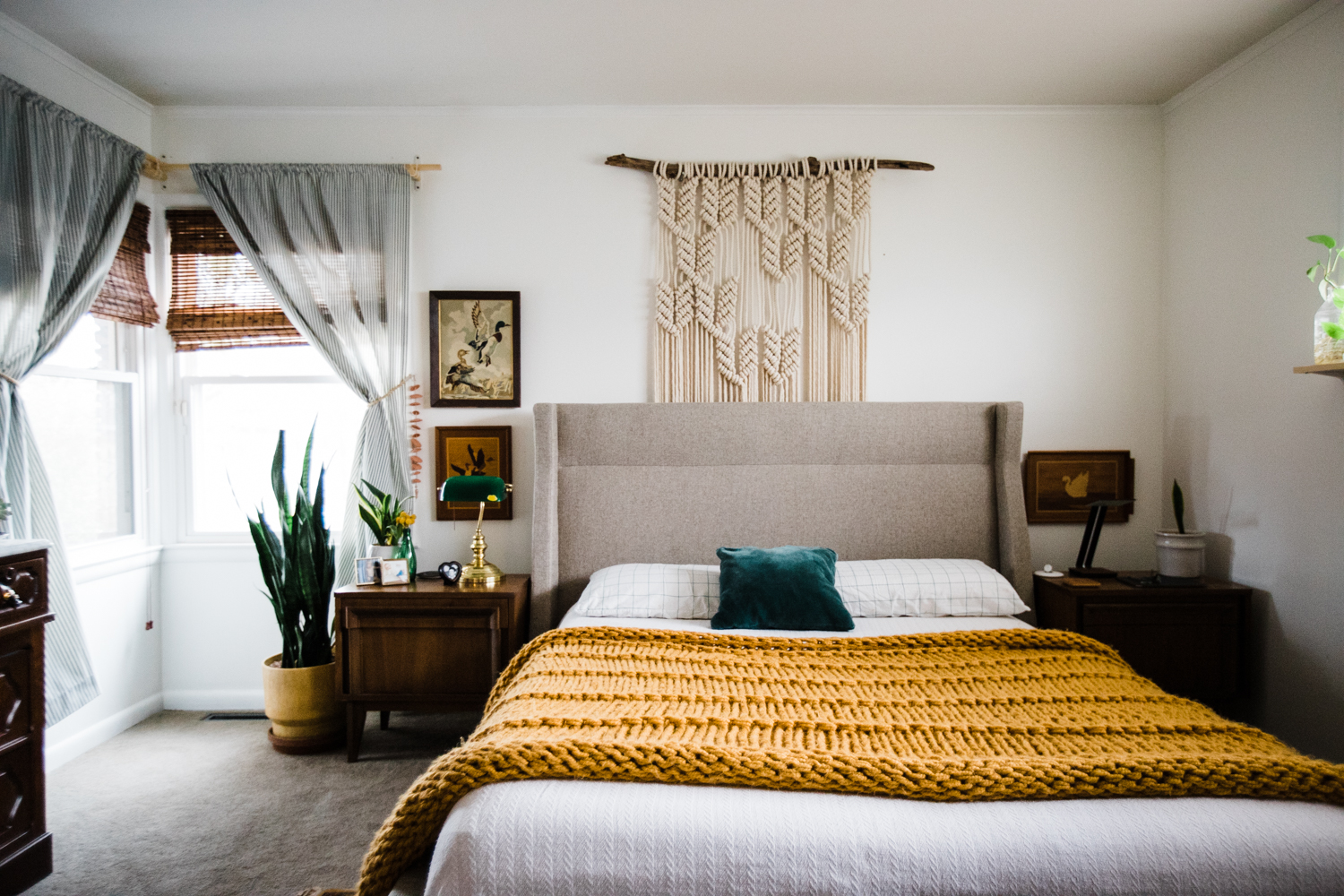 Moving Away From Bohemian Style How I UnBohoed My Bedroom Retro Impressive My Bedroom