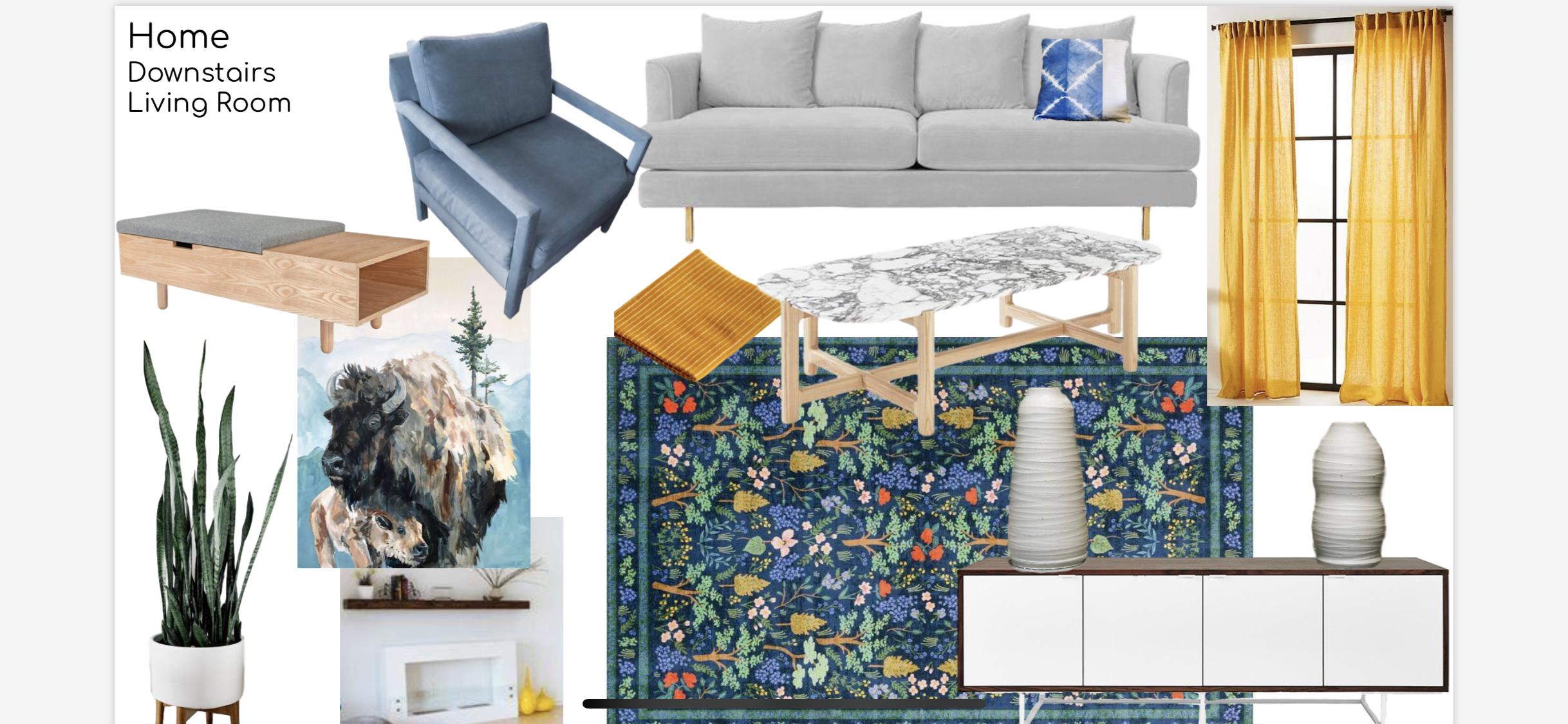 tulsa living room interior design