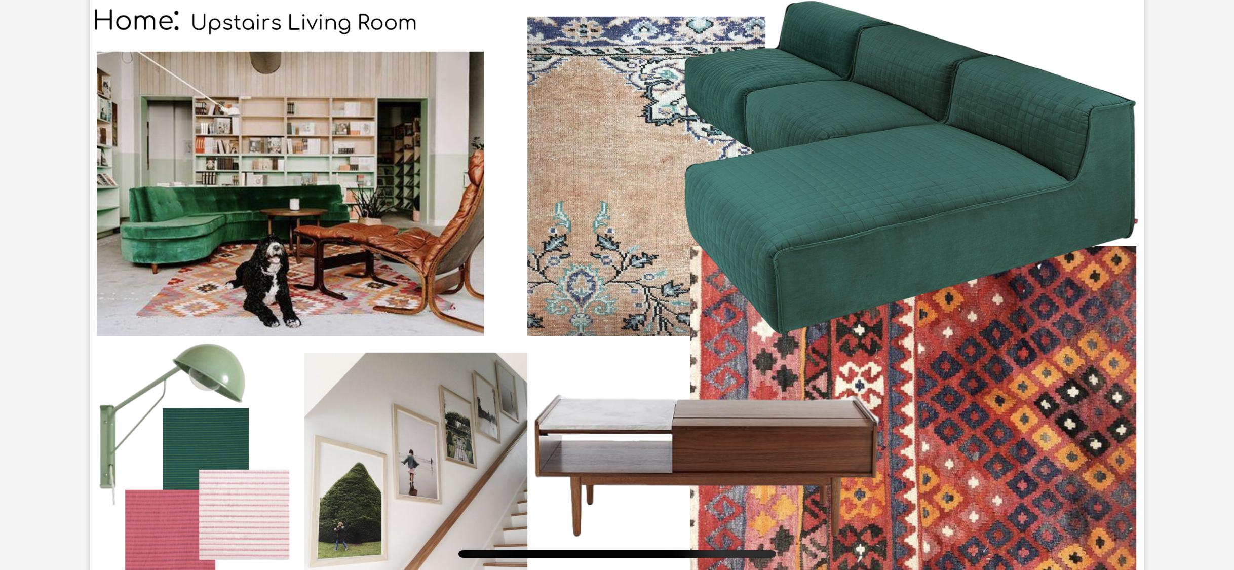 Tulsa family room interior design