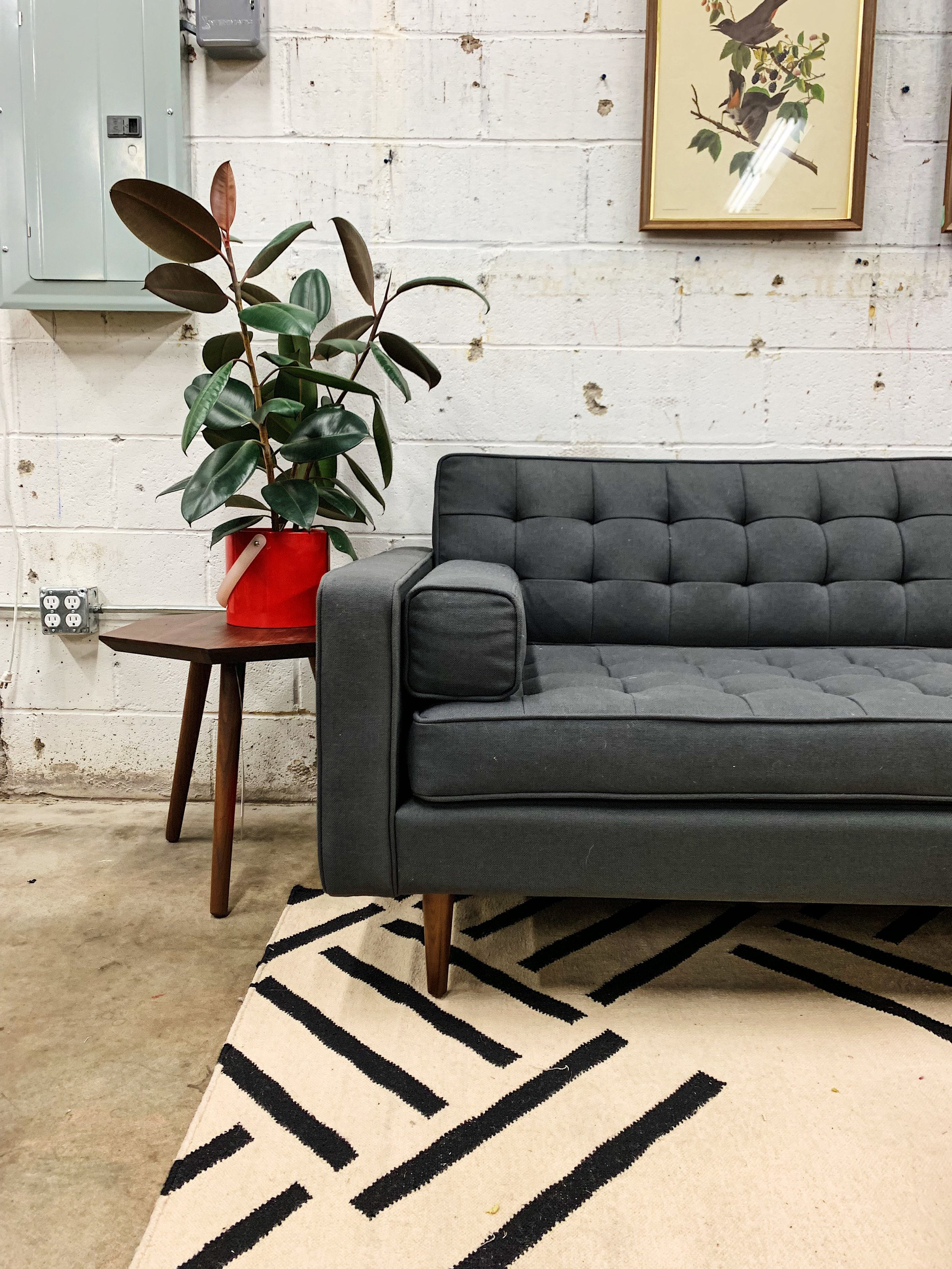 Living Room Furniture Decor Moody Modern Style Couch Gus Modern Tulsa Oklahoma