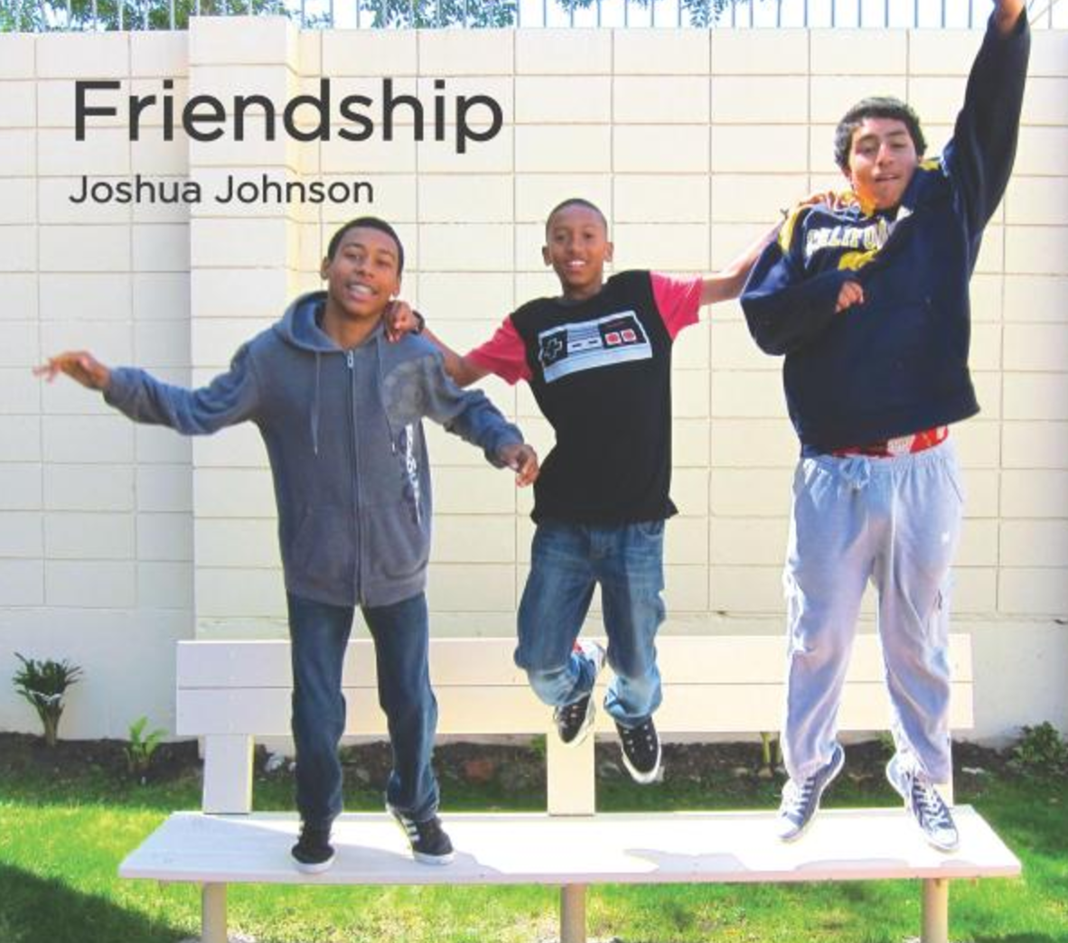 Friendship   Joshua Johnson invites you to learn more about his friend Julius. Learn what Friendship means to them and to you!   Buy this book.