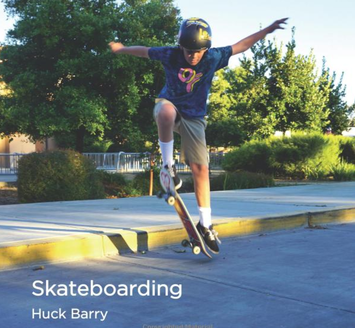 Skateboarding   This book is about the different parts of a skateboard, and the different types of skateboards.   Buy this book.