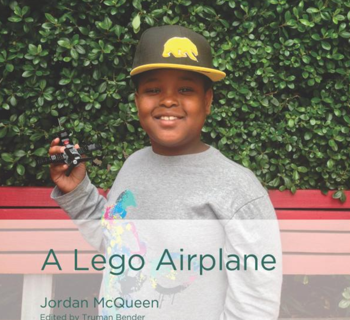 A Lego Airplane   Jordan McQueen introduces the beginning reader to the world of aviation. Step-by-step instructions introduce transition words and phrases and explain how to assemble A Lego Airplane.   Buy this book.
