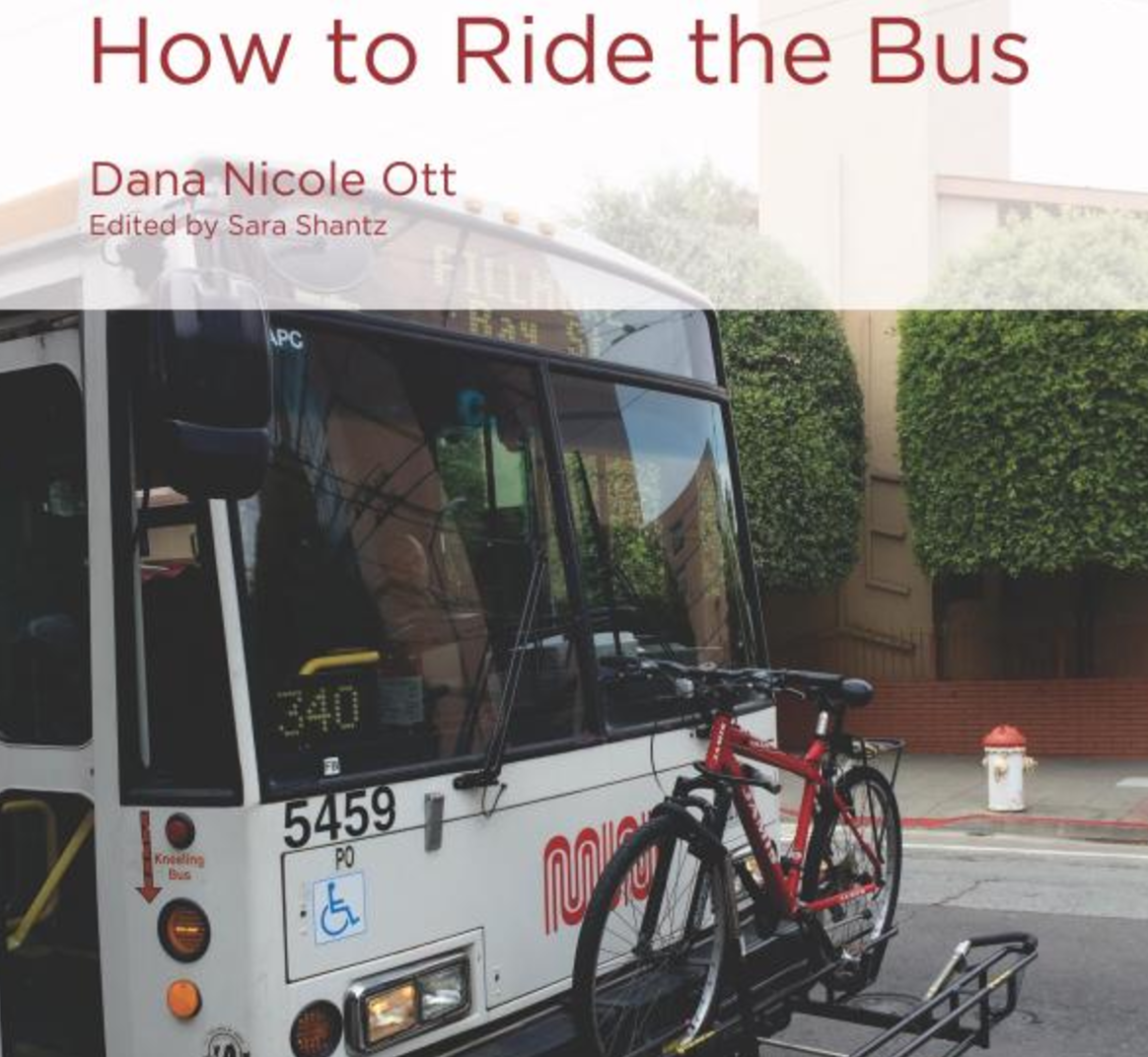 How to Ride the Bus   Author Dana Nicole Ott knows a lot about How to Ride How to Ride the Bus; her mother is a bus driver and she takes the bus to school every day. Learn about San Francisco's public transportation system and how to study the parts of words to understand their meanings.  Buy this book.