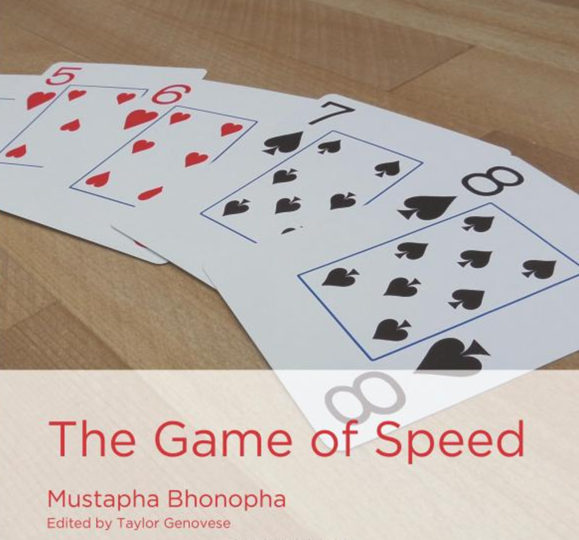 """A Game of Speed  Mustapha Bhonopha loves The Game of Speed, and he usually wins! Learn how to pronounce the letter """"c"""" in the context of different words and letter patterns.   Buy this book."""
