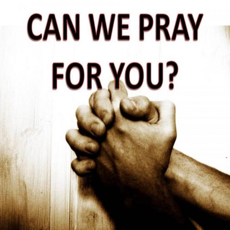 Submit Prayer Request