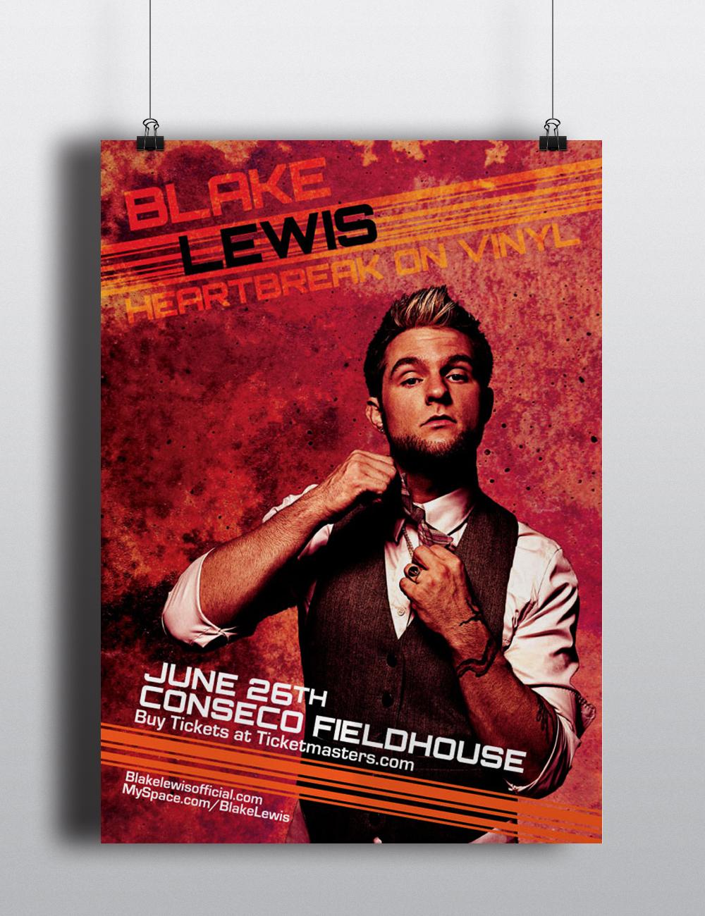 (Fictional) Blake Lewis Poster