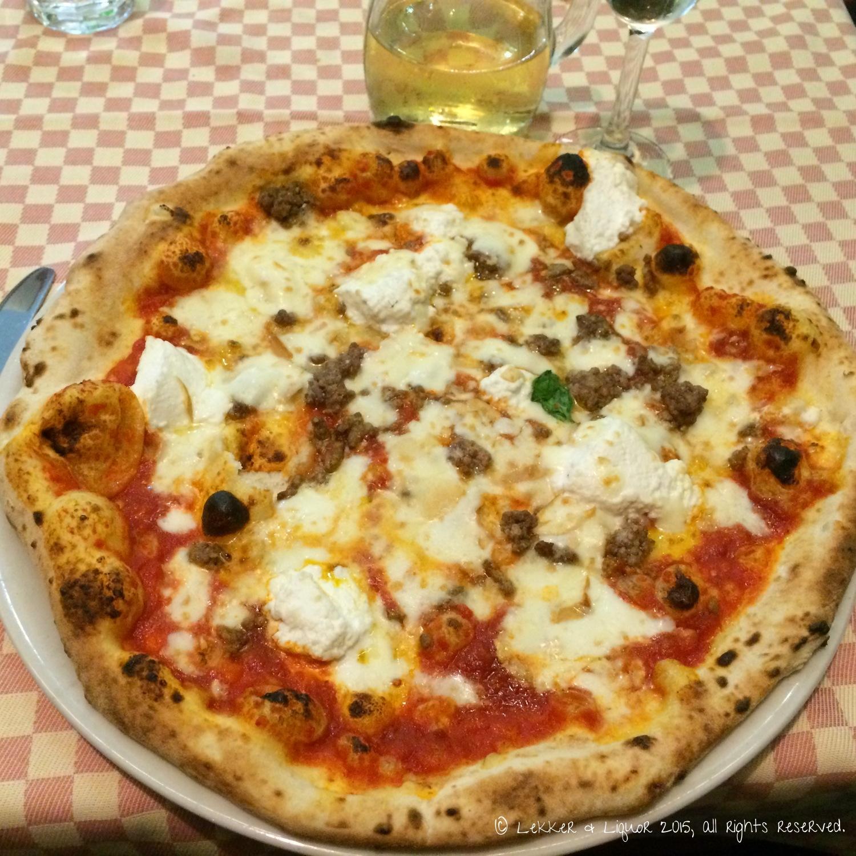 Pizza at Il Pomodorino