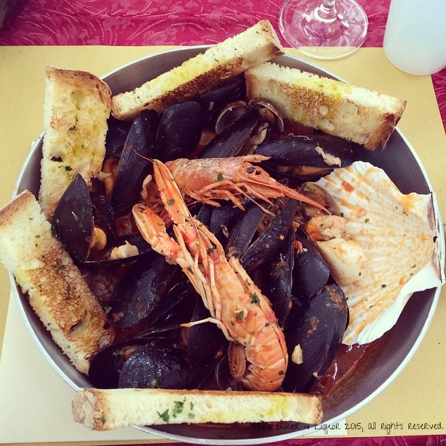Seafood Lunch