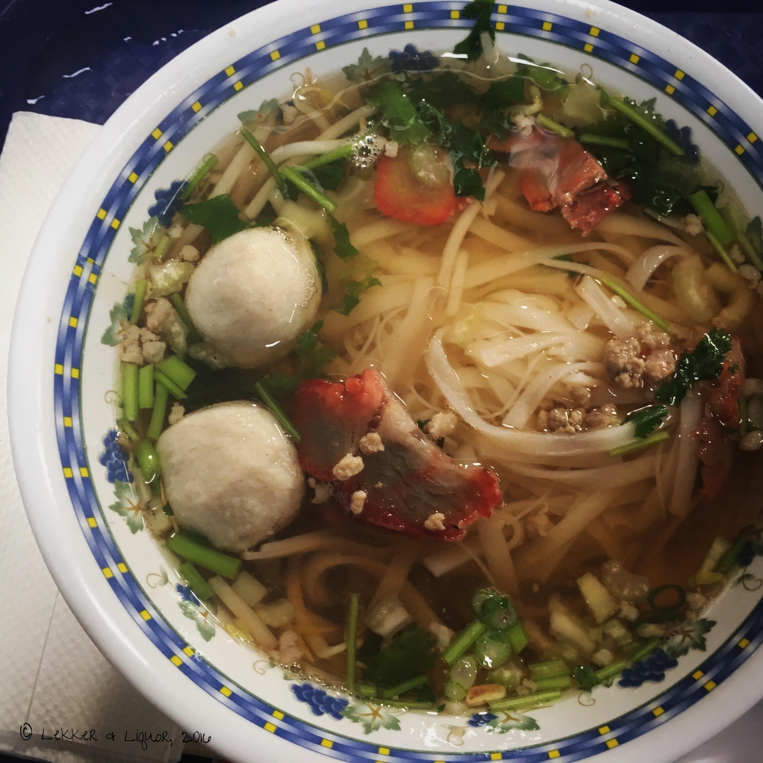 Pork Noodle Soup for Brunch?