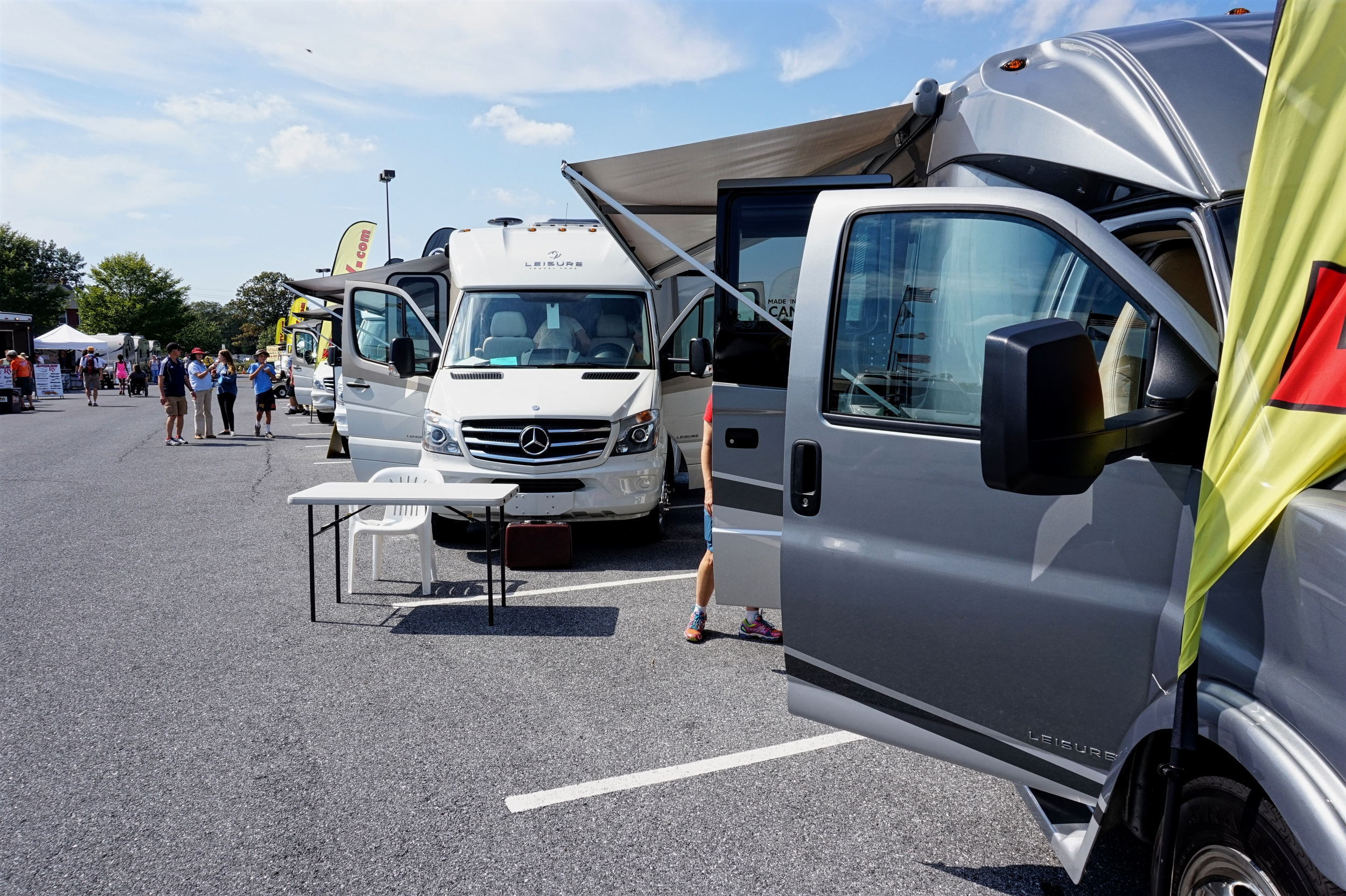 If we were dogless and money weren't a factor, we'd probably be in one of these Leisure Travel Vans.