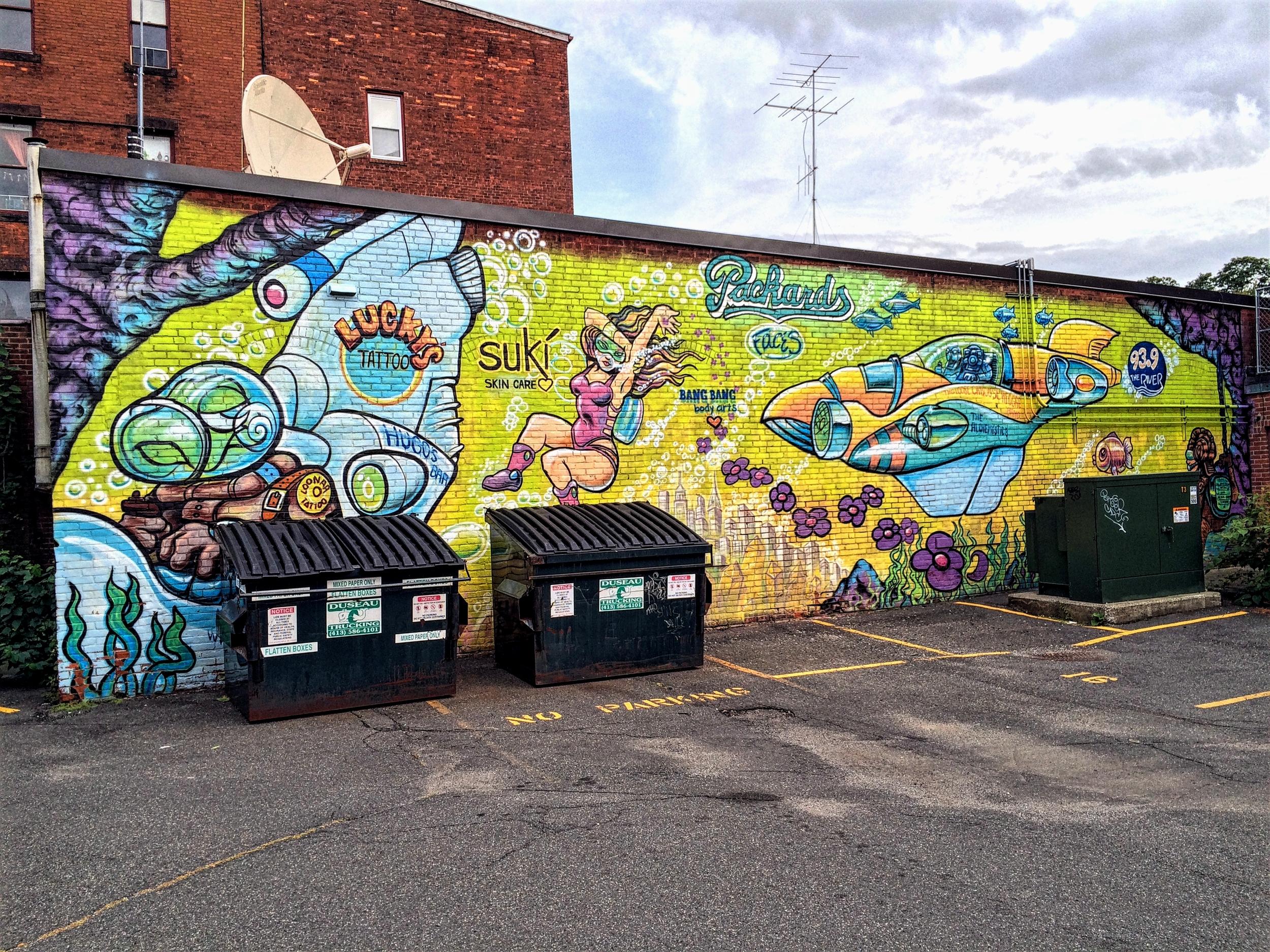 Street art,Northampton.
