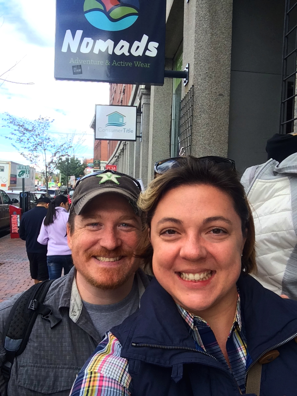 With a name like Nomads, we just had to stop in this store in Portland. It was full of outdoor and travel apparel and gear. We loved browsing the aisles. Great place to stumble upon!