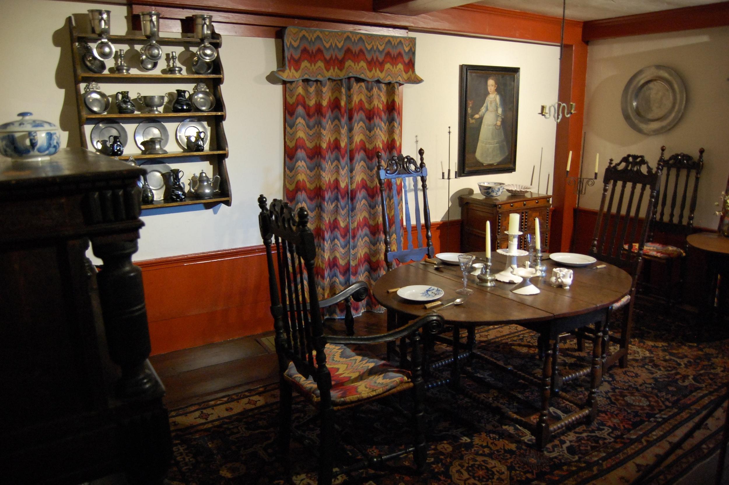 Prentis House interior.