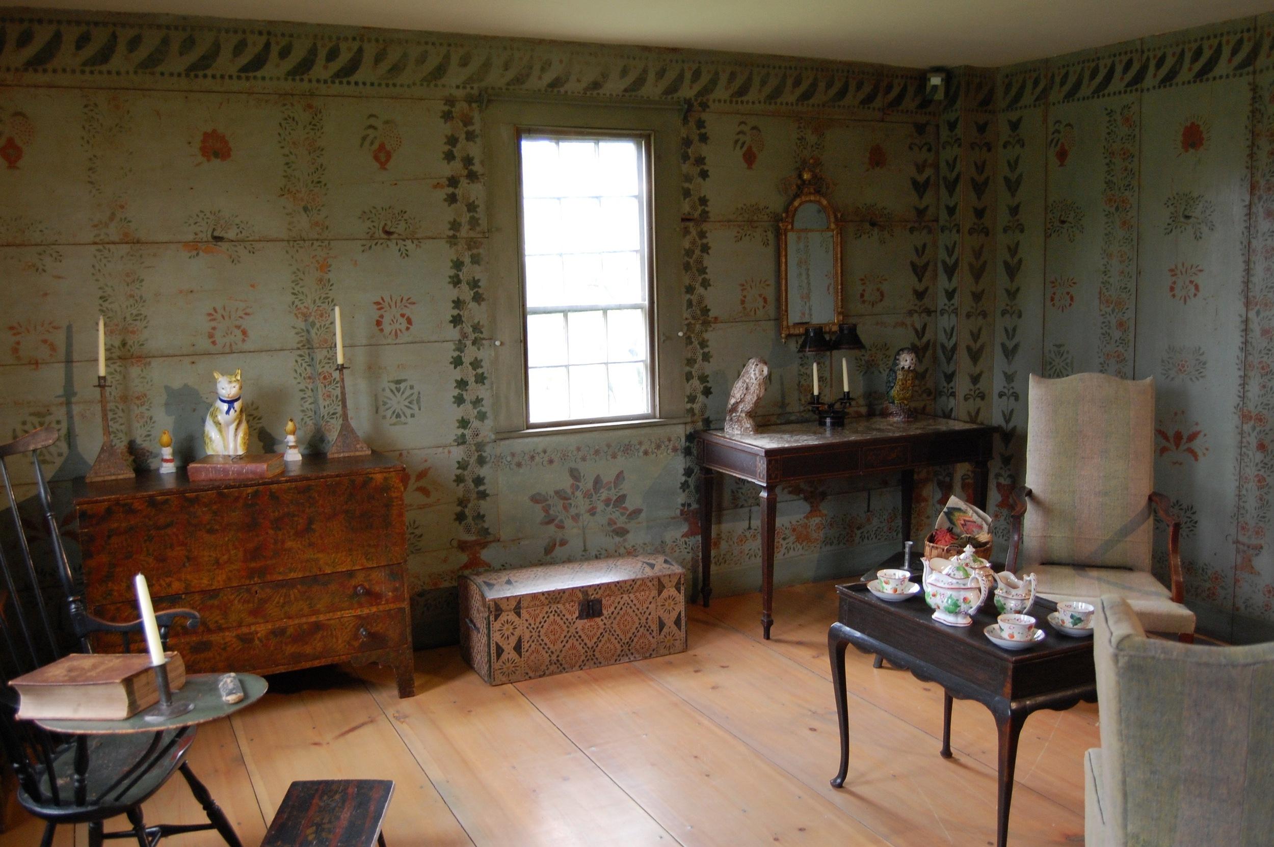 Stencil House interior.
