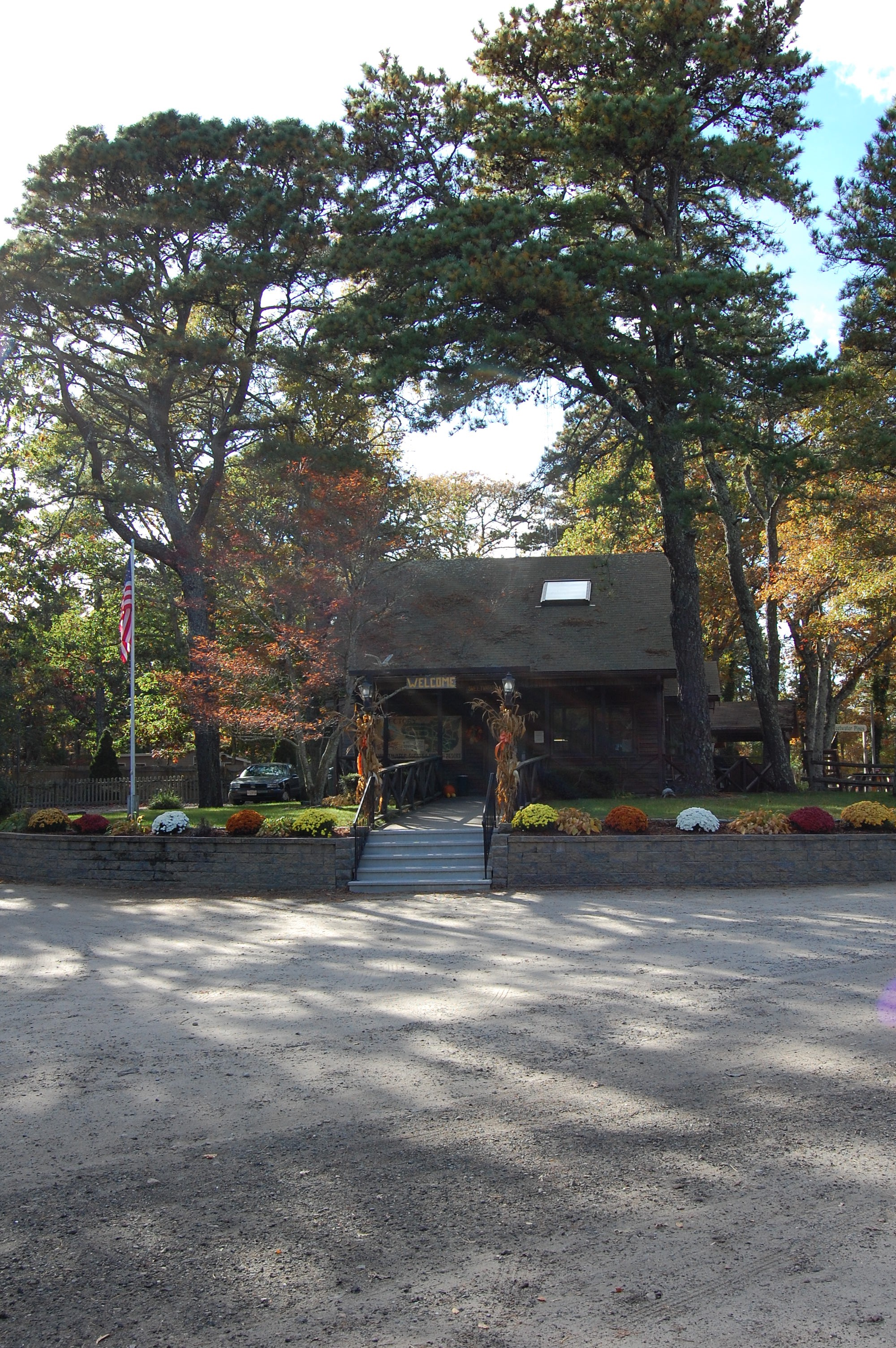 Sweetwater Forest's main office building.