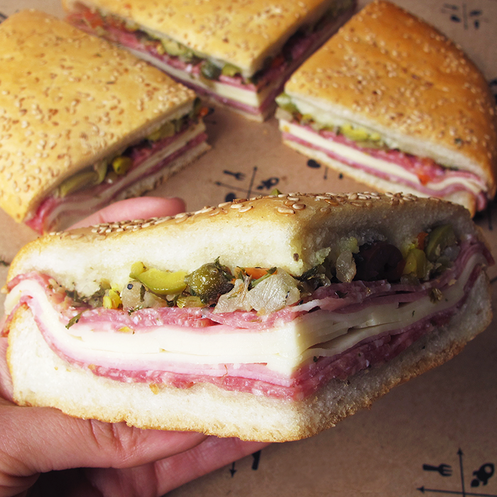 Central Grocery's Delicious Muffuletta -  Photo Credit