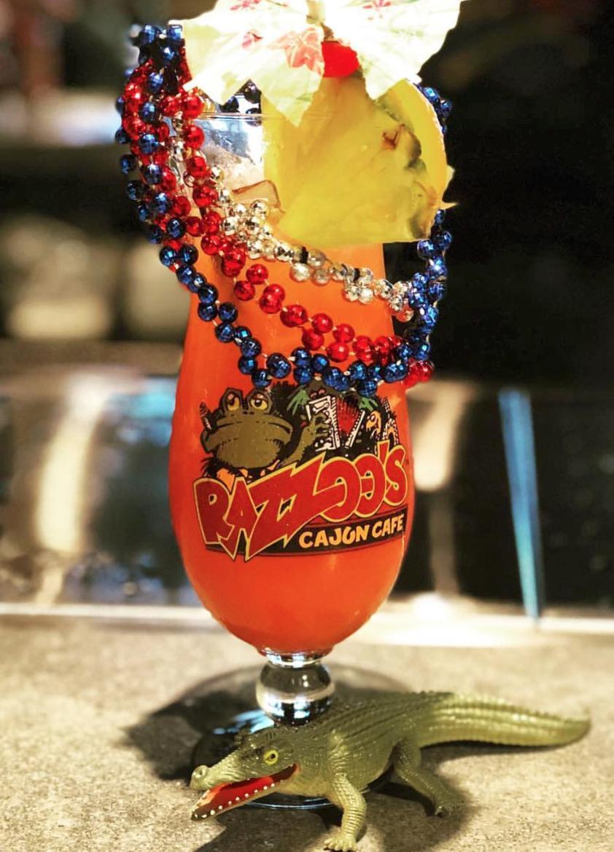 razzoo's hurricane drink dallas texas