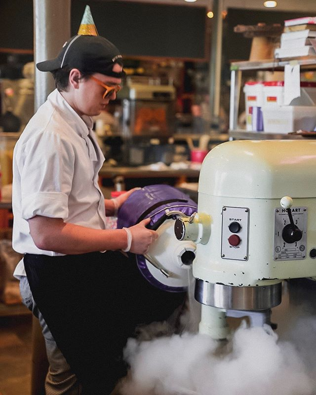 Thank you everyone for stopping by our Birthday Party in our Hudson Shop! We opened in 2015 with our dream—homemade ice cream using the freshest ingredients we can find, a first-of-it's-kind liquid nitrogen spinning process and what we think the 🌎 best ice cream!