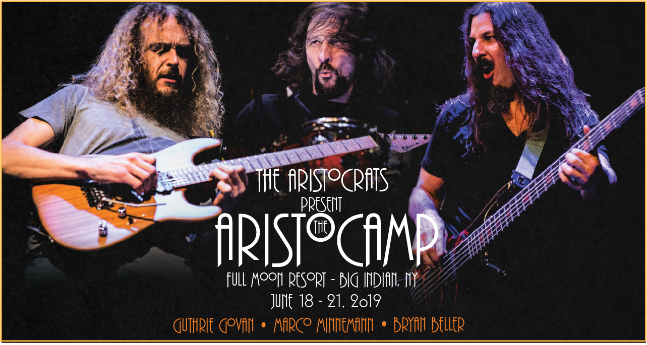 The Aristocrats with Francis Dunnery, Chad Wackerman, Michael Manring