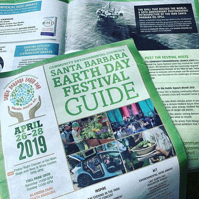 Happy @sb_earthday festival. Great work @cec_sb, and for highlighting the oily reminder why we must be good stewards of our home.