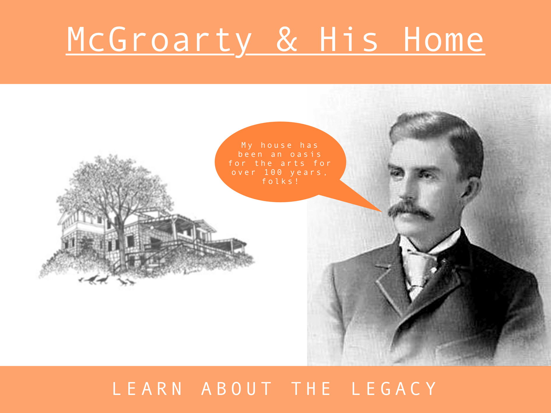 McGroarty Arts Center History Slider