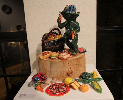 Martha Rivera piece. Photo Tiffany Hearsey.