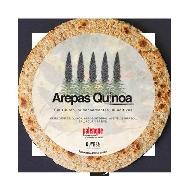Palenque se asoció con QUYBSA - QUYBSA Sabores Artesanales produce nuestras arepas de Quinoa y Multigrano con el mismo sabor y pasión. Las pueden ordenar a Domicilio en Bogotá al teléfono: 305-7682707http://www.quybsa.com