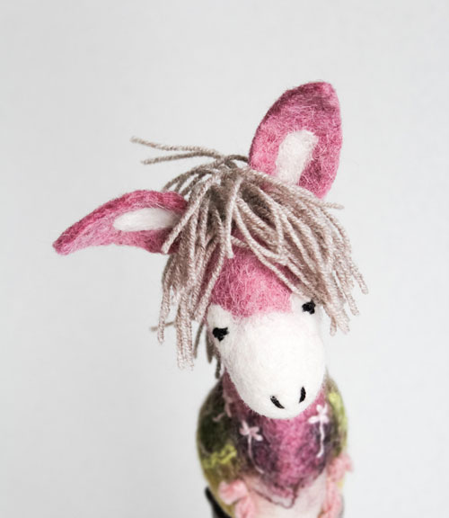 This beautiful marionette by  Two Sad Donkeys  is made to order with the most gorgeous attention to detail.