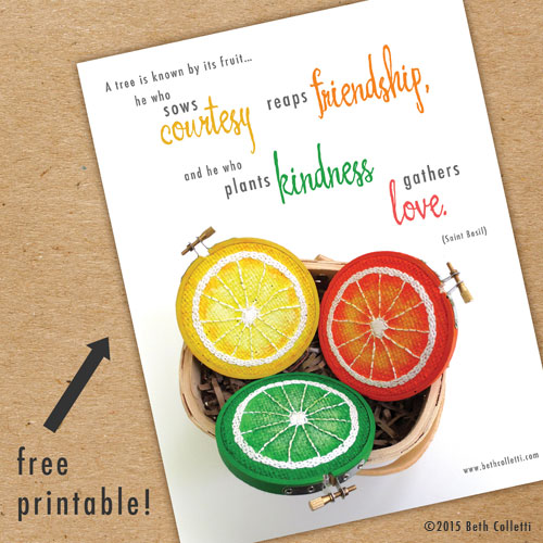 This free printable is yours when you  sign up for my monthly newsletter !