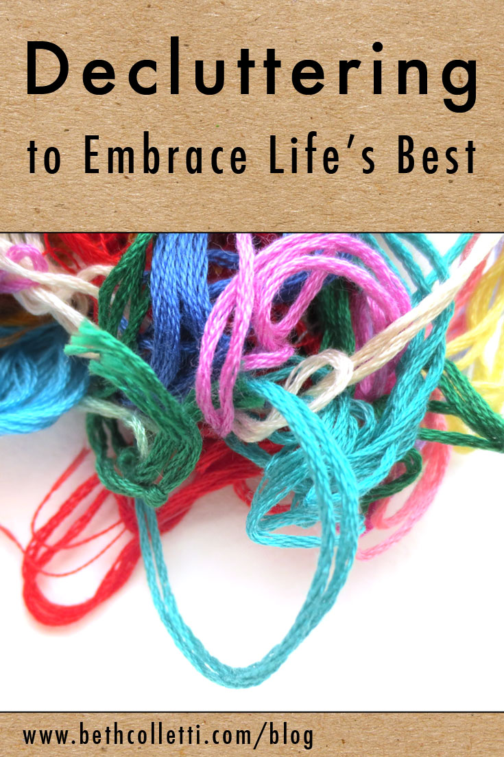 Decluttering to Embrace Life's Best