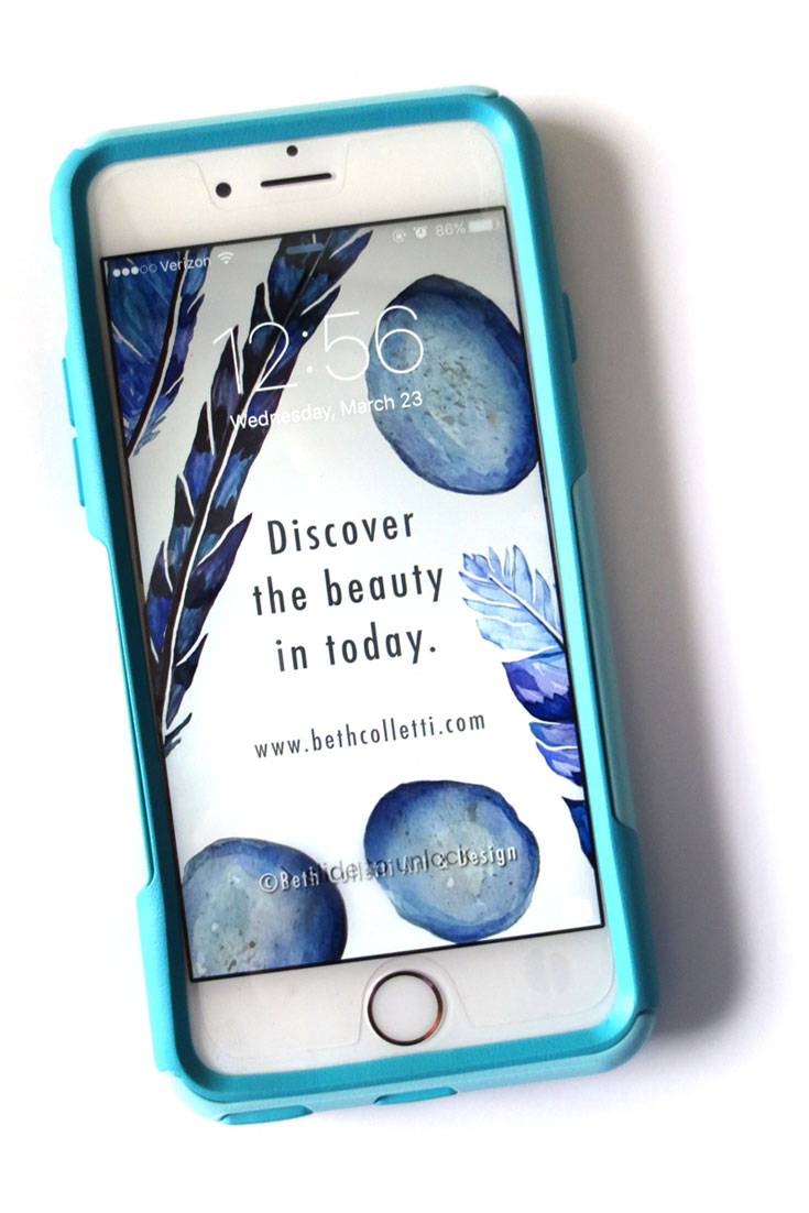 Download this wallpaper (and more!) for your phone when you  join my email list.