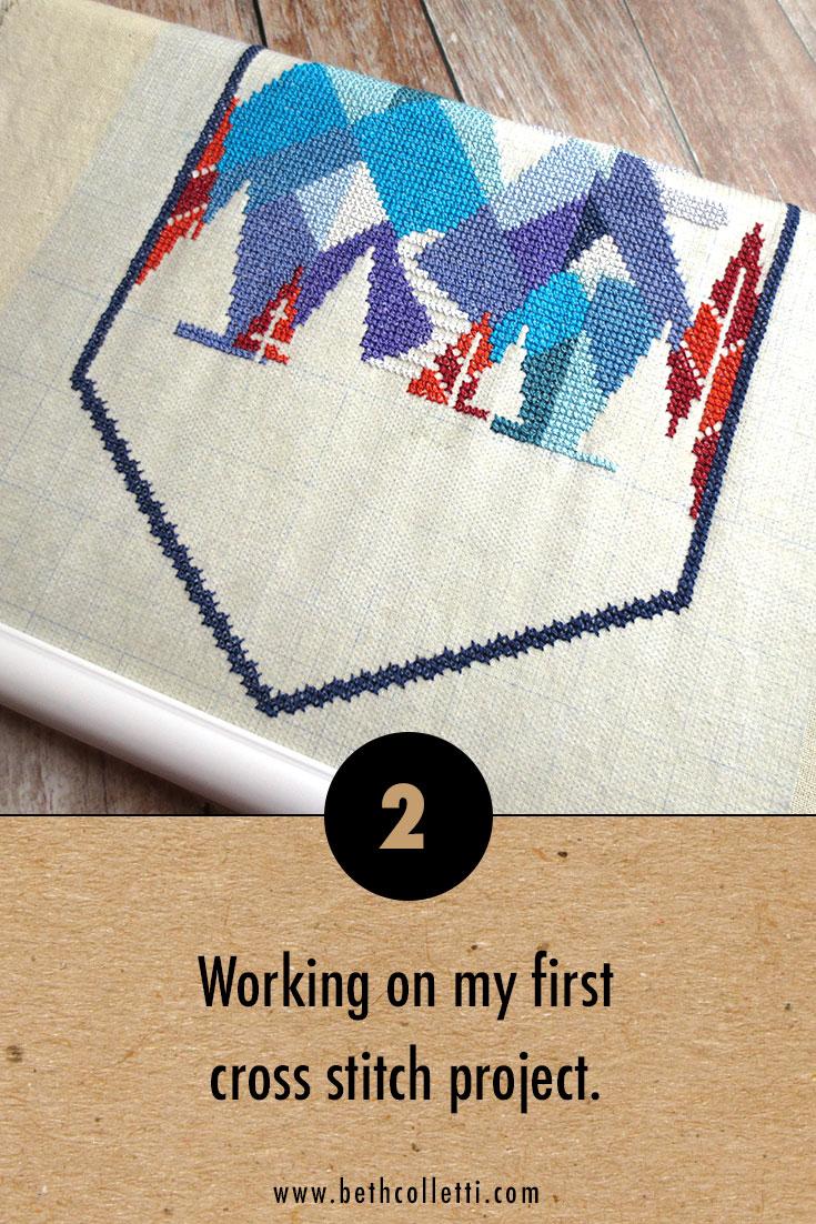 Satsuma Street's Alpine cross stitch pattern.
