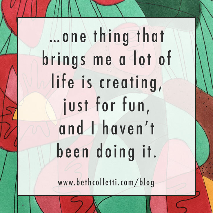 10 Ideas for Replenishing Yourself Through a Creative Outlet